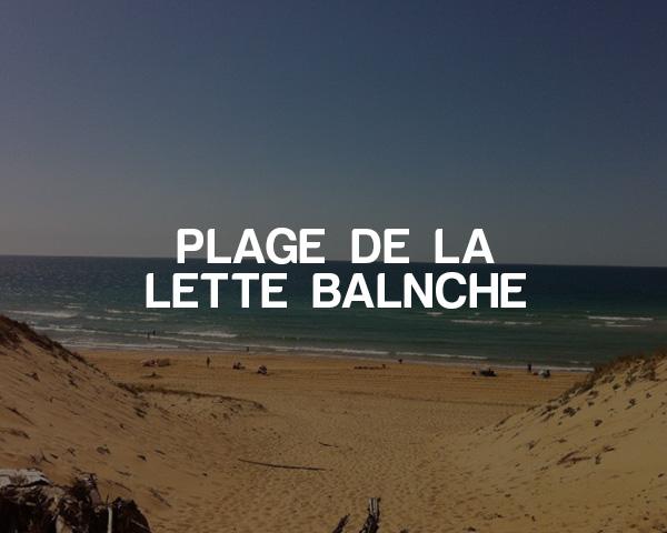 Plage de la Lette Balnche (bottom- other side of Montpellier)
